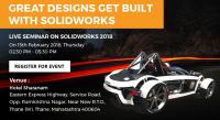 Great Designs Get Built With SOLIDWORKS - Mumbai