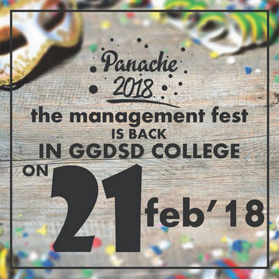 Panache : The management fest, Chandigarh, India