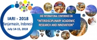2nd International Conference on Interdisciplinary Academic Research and Innovation (IARI- 2018)