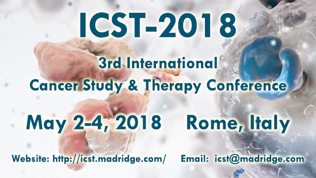 3rd International Cancer Study & Therapy Conference, Italy