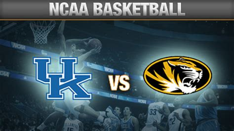 Image result for Kentucky vs Missouri Basketball