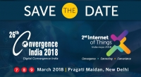 26th Convergence India 2018 expo & 2nd Internet of Things India 2018 expo