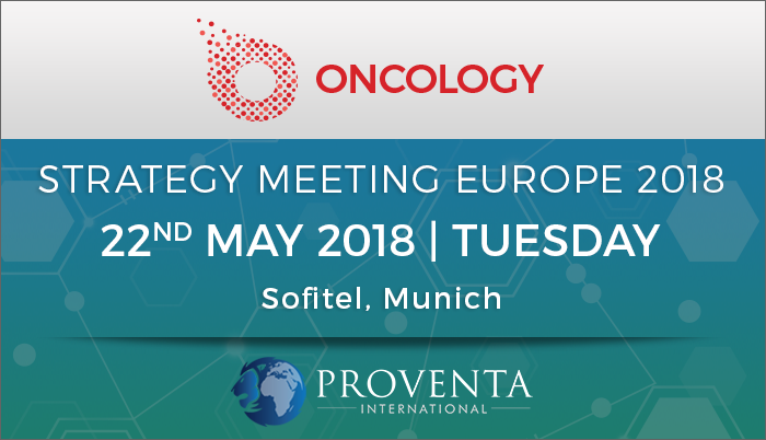 Oncology Strategy Meeting Europe 2018, Munich, Bayern, Germany