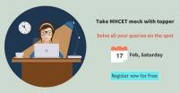 FREE MHCET Workshop