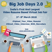 Online Job Fair 2018 Big Job Days