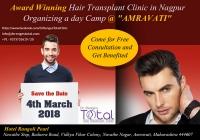 1 Day Free Hair Transplant Camp in Amravati