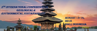 5th International Conference on Geological and Environmental Sustainability
