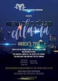 Men Decoded Live Taping: New Atlanta Series