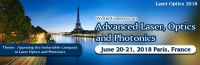 World Congress on Advanced Laser, Optics and Photonics