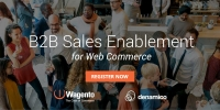 Magento B2B Sales Enablement in Web Commerce