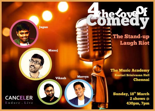 4 The Love Of Comedy, Chennai, Tamil Nadu, India