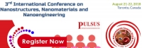 3rd International Conference on Nanostructures, Nanomaterials and Nanoengineering