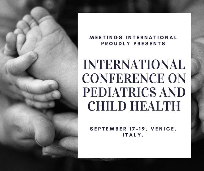 International Conference on Pediatrics and Child health, Venice, Veneto, Italy