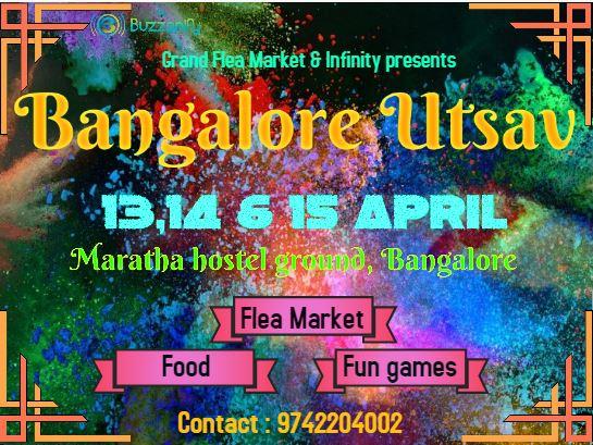 Bangalore Utsav Summer Edition, Bangalore, Karnataka, India