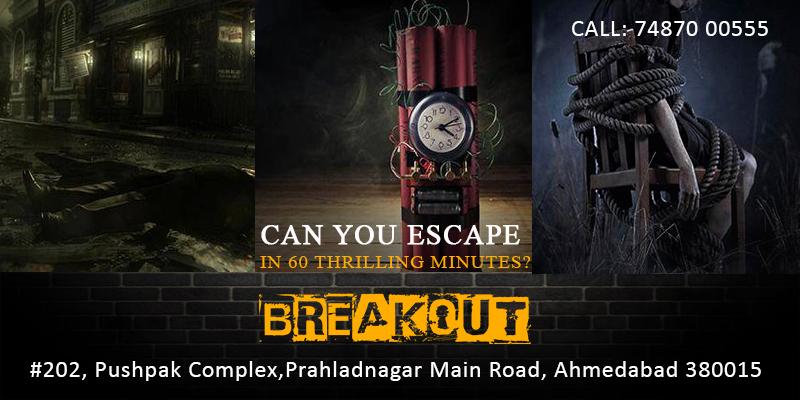 Breakout-Escape Games, Ahmedabad, Gujarat, India
