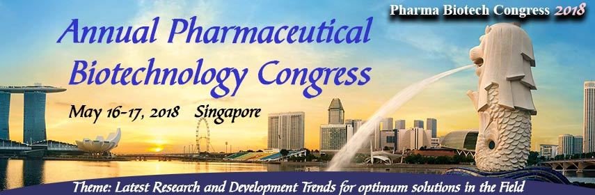 Annual Pharmaceutical Biotechnology Congress, Singapore, Central, Singapore