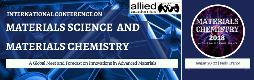 International Conference on Materials Science and Materials Chemistry, Paris, France