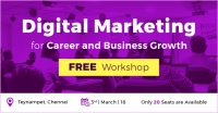 Digital Marketing for Career and Business Growth FREE Workshop