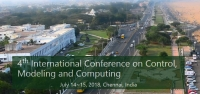 4th International Conference on Control, Modeling and Computing(CMC 2018)