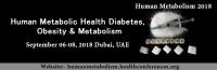 25th Global Summit on Human Metabolic Health- Diabetes, Obesity, & Metabolism