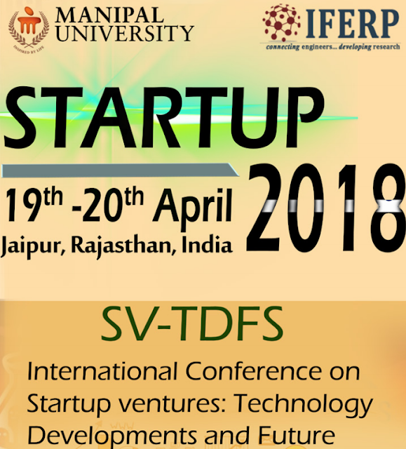 Unique Startup Conference in India | IFERP, Jaipur, Rajasthan, India