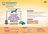 One Day Hands on Training Programme on Finite Element Analysis using ANSYS