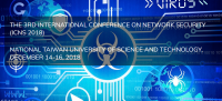 2018 The 3rd International Conference on Network Security (ICNS 2018)