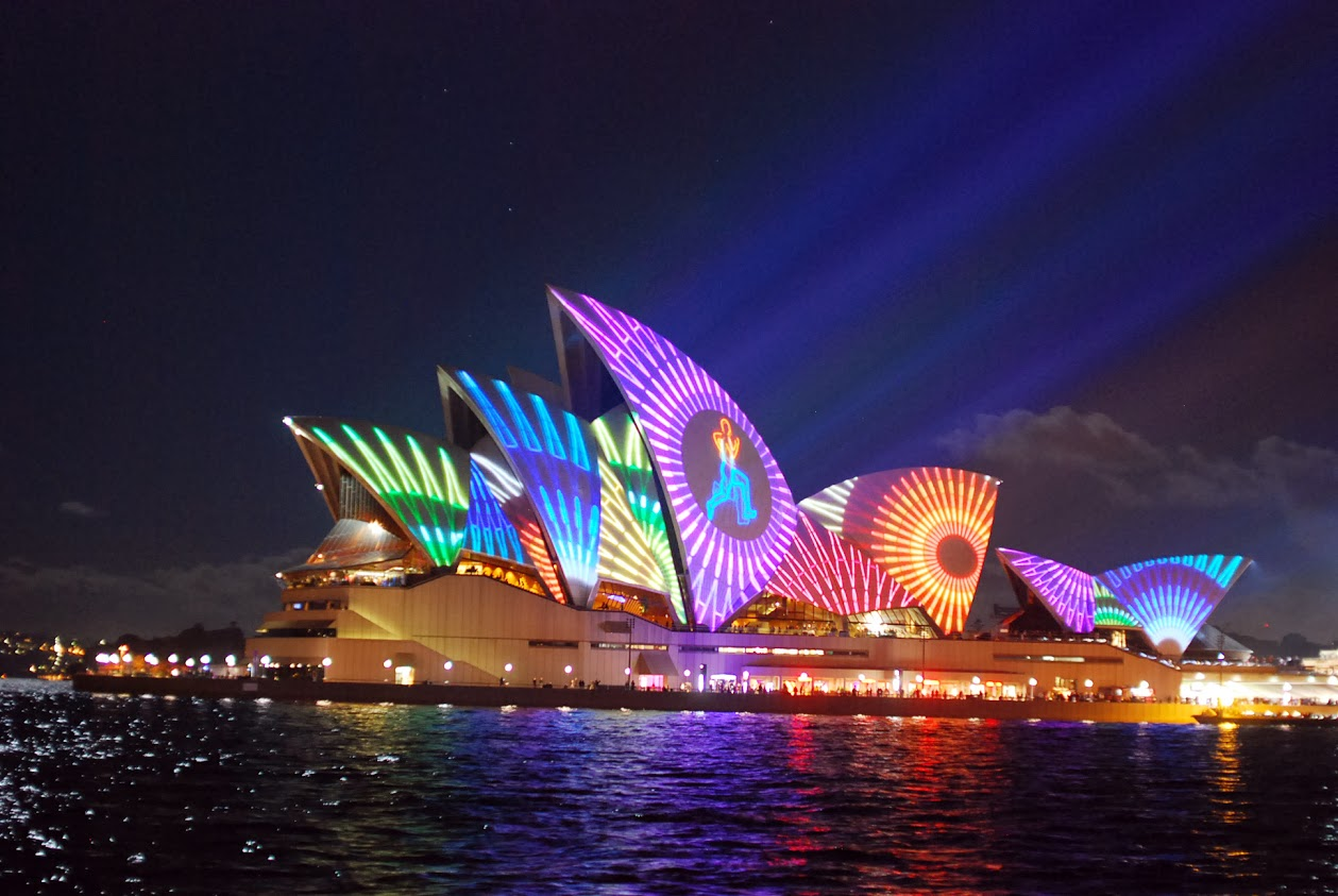 Vivid Sydney Light Cruises, Sydney, New South Wales, Australia