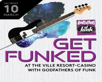 FREE live music by local legends Godfather's of Funk at The Ville!