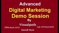 Digital marketing Training in hyderabad | Top Digital Marketing | Visualpath