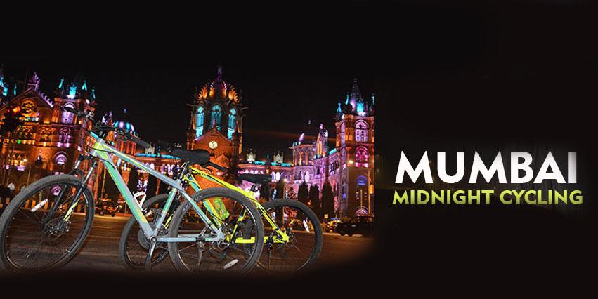 Mumbai Midnight Cycling, Mumbai, Maharashtra, India