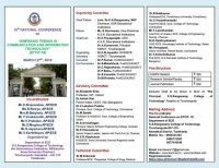 10th National Conference on Emerging Trends in Communication and Information Technology