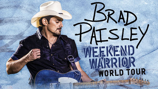 Brad Paisley Weekend Warrior World Tour, Nashville, Tennessee, United States