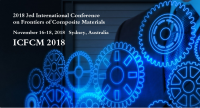 2018 3rd International Conference on Frontiers of Composite Materials (ICFCM 2018)--Ei Compendex and Scopus