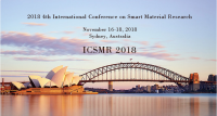 2018 4th International Conference on Smart Material Research (ICSMR 2018)--Ei Compendex and Scopus