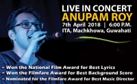 Anupam Roy LIVE IN Concert