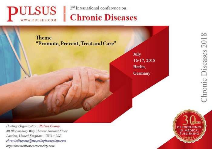 2nd International Conference on Chronic Diseases, Berlin, Germany