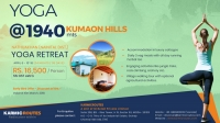 Yoga Retreat @ Kumaon Hill (1940 Mts)