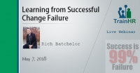 Learning from Successful Change Failure