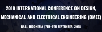 2018 International Conference on Design, Mechanical and Electrical Engineering (DMEE 2018)--Scopus, Ei compendex