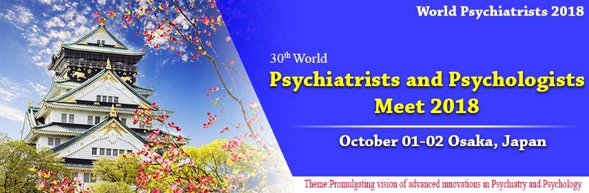 30th World Psychiatrists and Psychologists Meet, Osaka, Japan