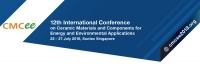 12th International Conference on Ceramic Materials and Components for Energy and Environmental Applications