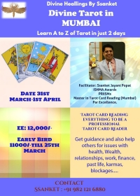 Divine Healing with Tarot  By Spiritual & Well-being Coach Ssanket
