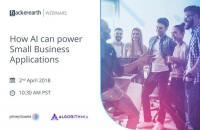 Webinar on How AI can power Small Business Applications