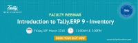 Webinar on Introduction to Tally.ERP 9 - Inventory