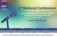 Second National Conference on Teaching Management in Dynamic Business Situation Post Economic Reforms