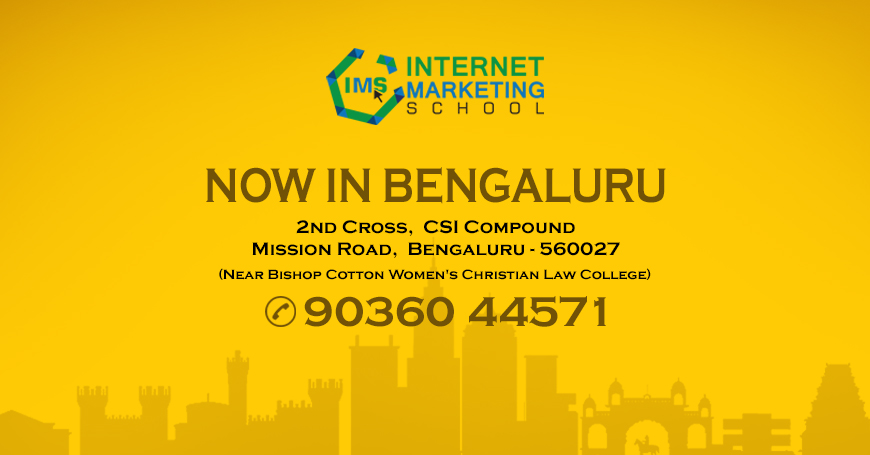 Expanding Southwards IMS Opens its 4th Centre in Bengaluru, Bangalore, Karnataka, India