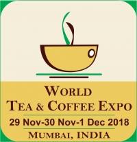 6th World Tea & Coffee Expo Mumbai India 2018