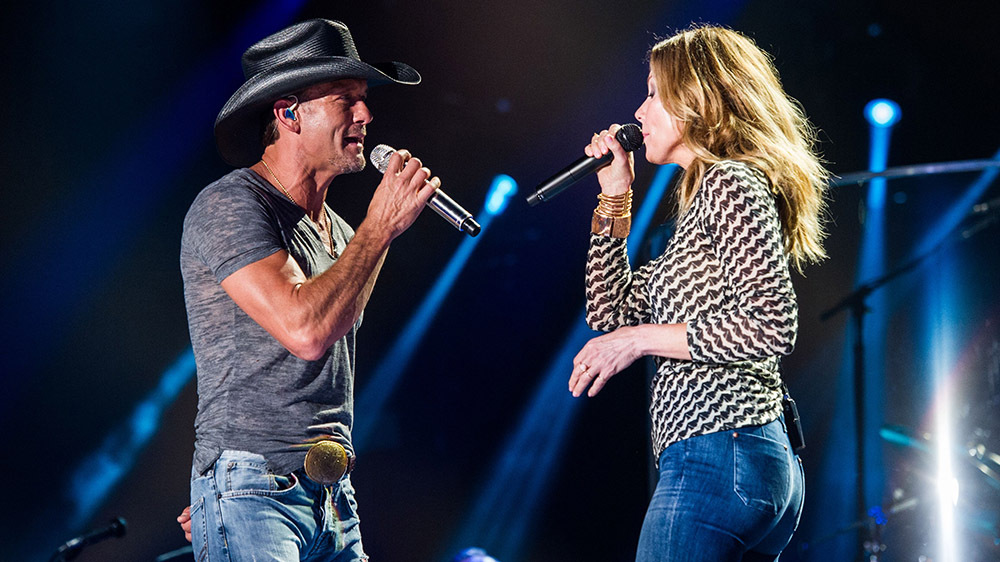 Tim McGraw & Faith Hill - TixTM, Riverside, California, United States