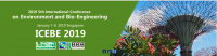 2019 5th International Conference on Environment and Bio-Engineering (ICEBE 2019)